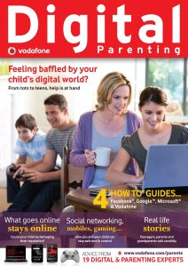 Digital Parenting Magazine Cover Image