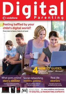 Digital Parenting Magazine Cover Image